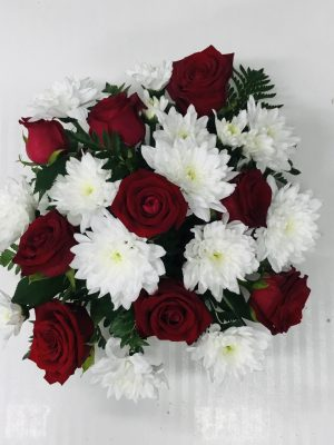 Small Red & White Arrangement