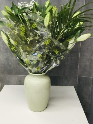 Oriental White Lilly Bouquet