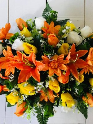 Silk Double Ended Arrangement