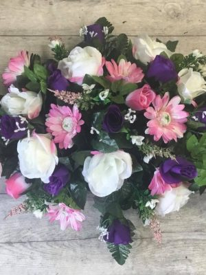 Large Double Ended Silk  Arrangement